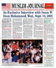 The Debate Over the Interview of Min. Farrakhan in Muslim Journal